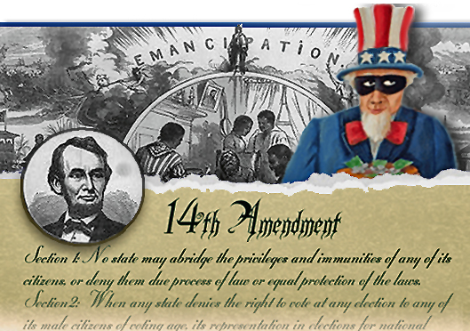 Are You a 14th Amendment Citizen/Slave?  | From Sovereign to Serf - SERFS-UP.NET