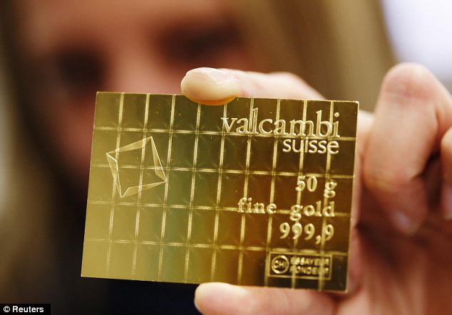 Banking Crisis Currency New Gold Bars Easily Break Into 1