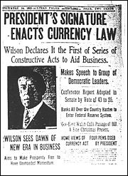 President Enacts Currency Law   From SOVEREIGN to SERF - SERFS-UP.NET